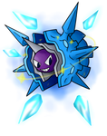 Shiny Cloyster Used Icicle Spear