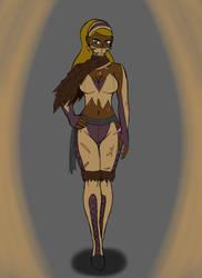 Mortal Kombat: Brown Female Ninja OC by SnowmanEX711