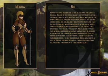 Mortal Kombat OC: Mokha Bio 1 by SnowmanEX711