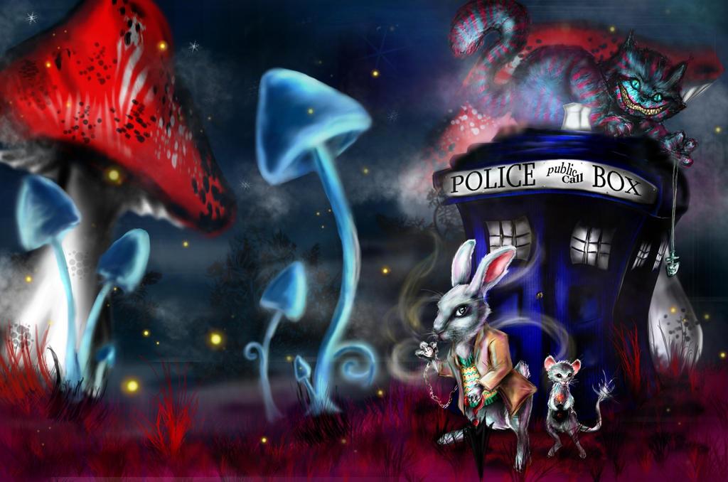 Who In Wonderland ? by ElenyMaddarnOn