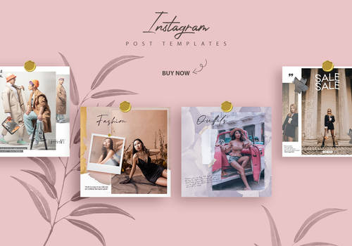 Promotional and Fashion Instagram Templates (SET)