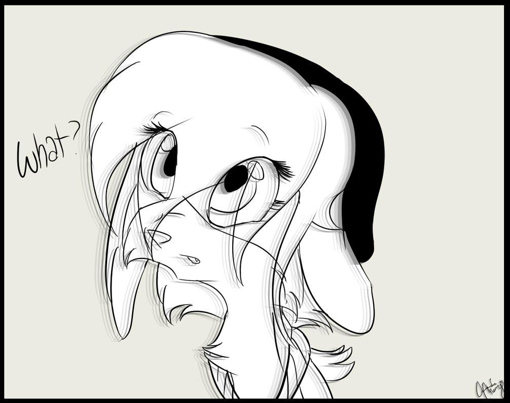 Random doodle. by SilverWolfSpirit1998