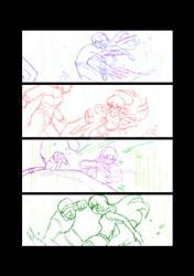 Battleground Page 3 Sketched