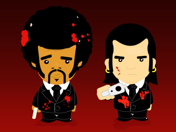 The Best Pulp Fiction Wallpaper  Gif