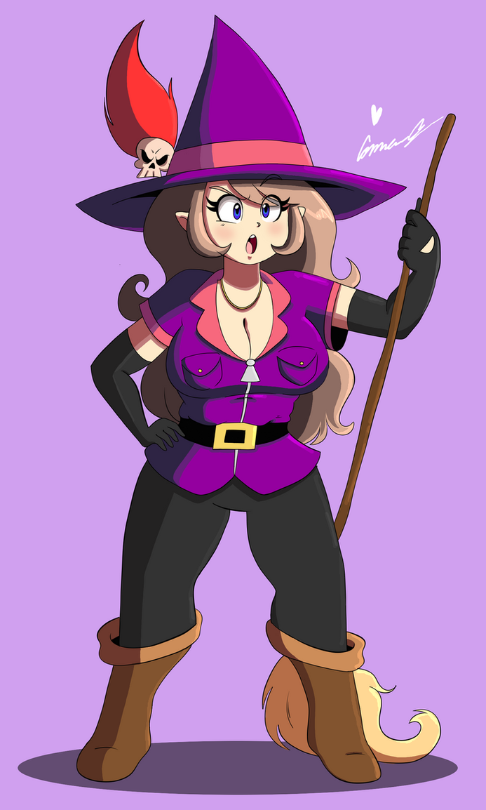 witchy poo by ScruffMuhGruff