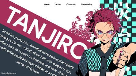 Tanjiro Web Design