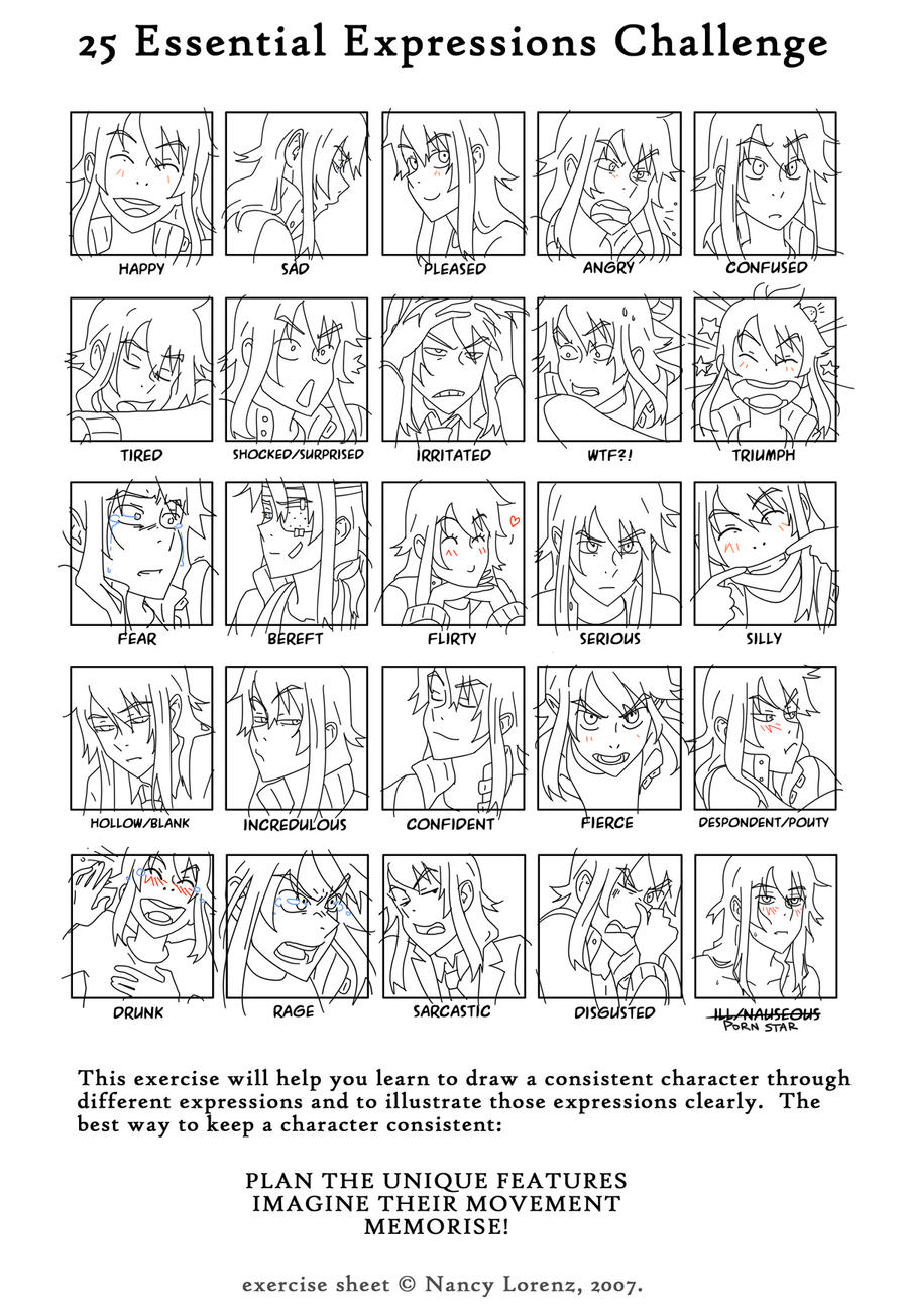 Piras 25 essential expressions meme by Flipfloppery