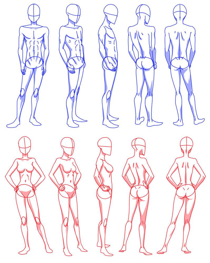 body rotation by Flipfloppery on DeviantArt