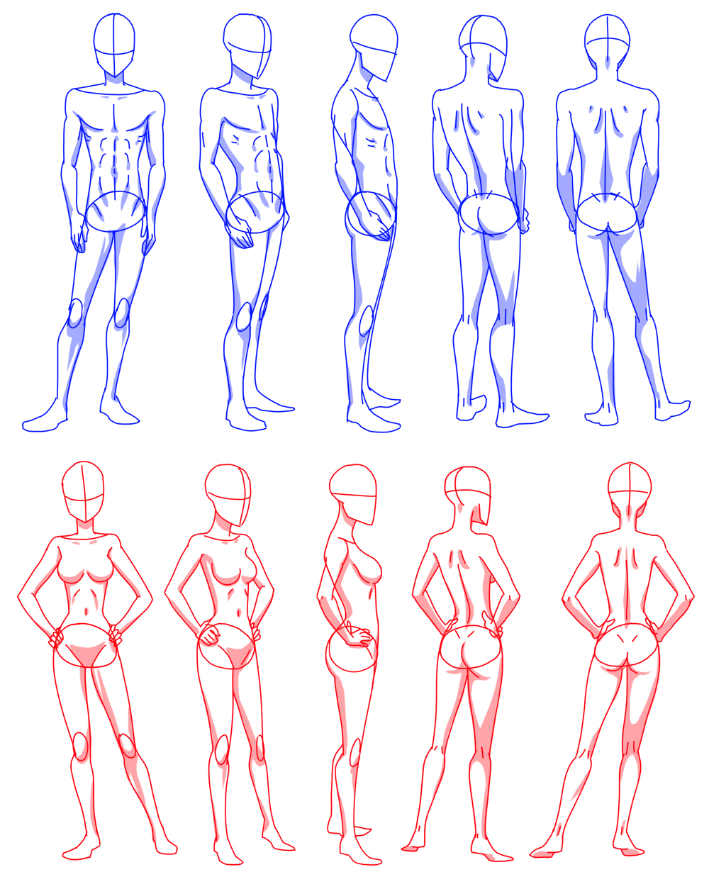 Body rotation by flipfloppery on deviantart for How to draw a body tumblr