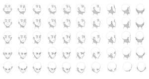 Head angles chart