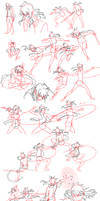 Fight Sketches