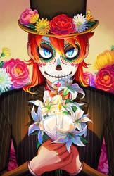 Dia de los muertos by Flipfloppery
