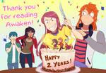 Awaken is 2 years old!