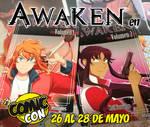 Voy a estar en la Comic Con Chile! by Flipfloppery