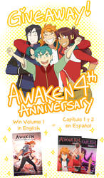 Awaken's birthday giveaway!