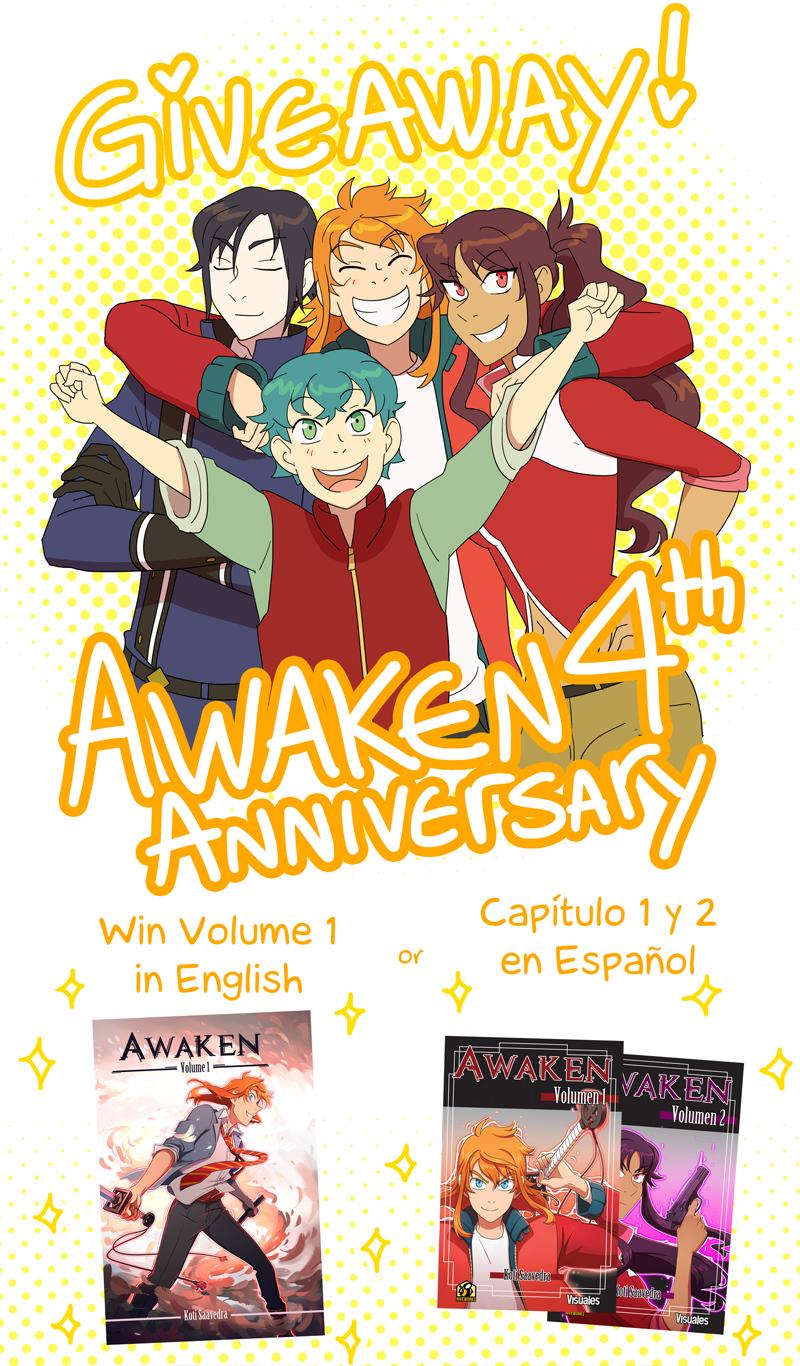 Awaken's birthday giveaway! by Flipfloppery