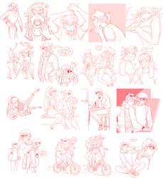 August sketchdump