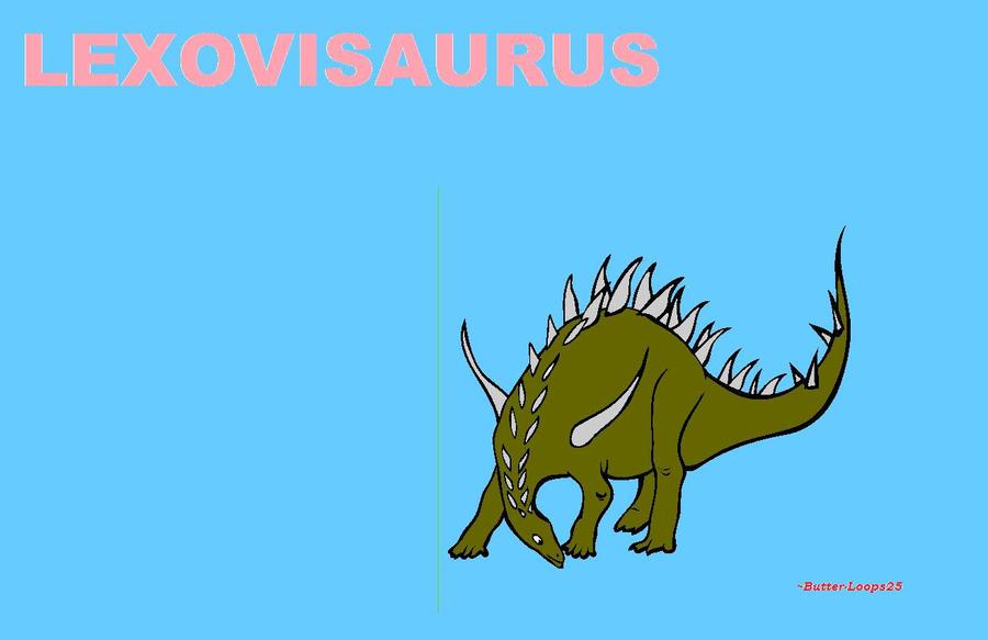 Lexovisaurus Cartoon by Butter-Loops25