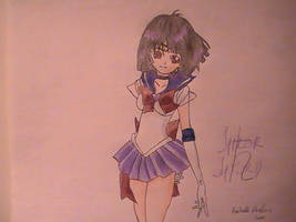 Sailor SATURN by Butter-Loops25