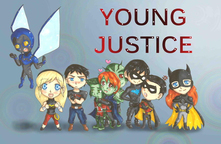 Young Justice Fan Art Young Justice Season 2 Team by