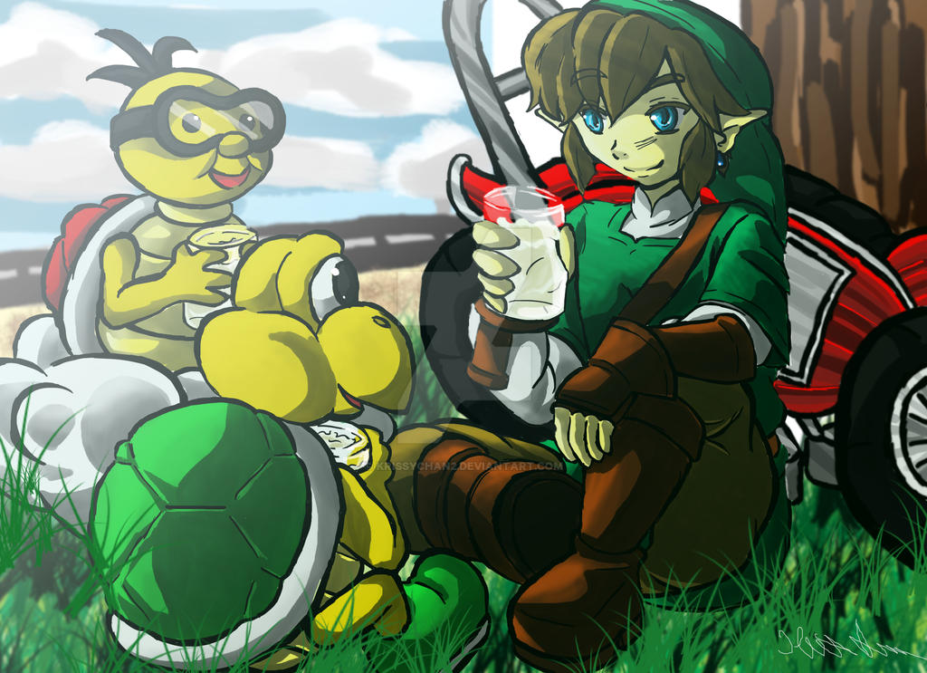 MarioKartBreak by Krissychan2