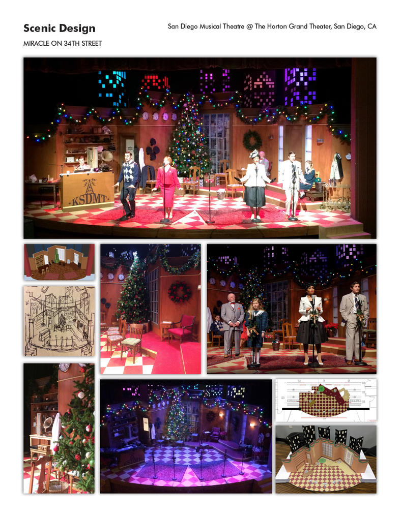 MIRACLE ON 34TH STREET by zapfino