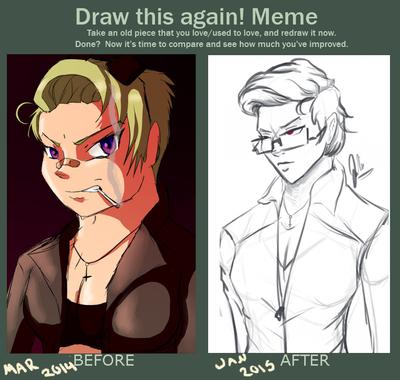 Draw this again! Meme - Valkyrie by missjulia1
