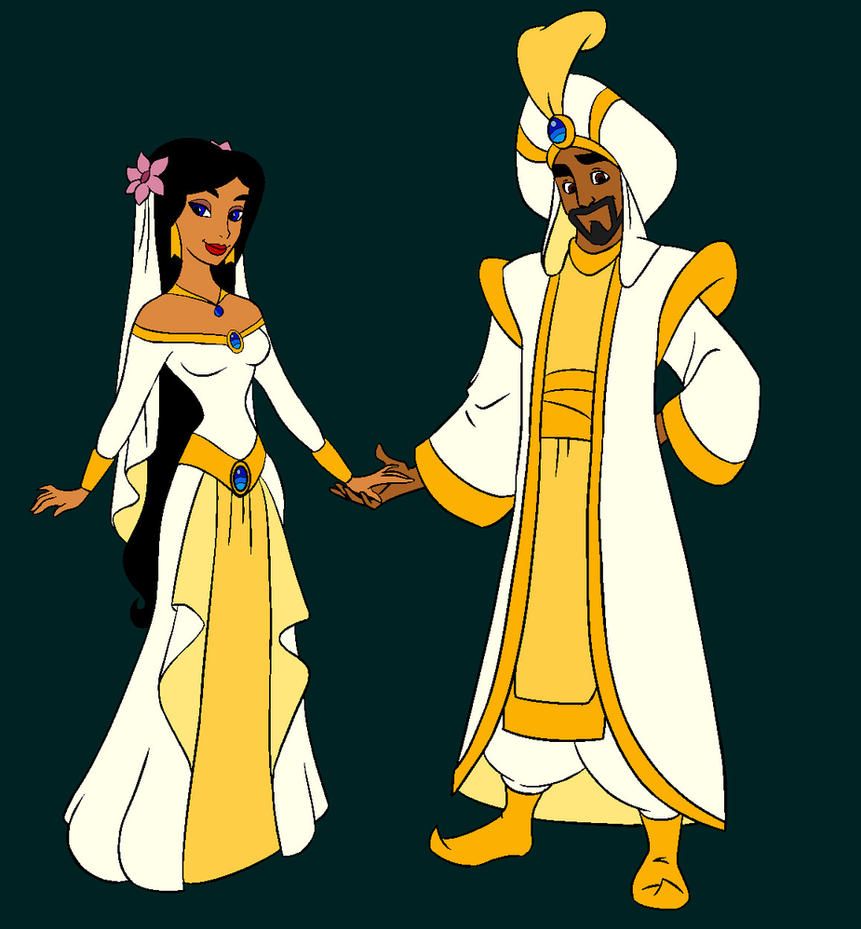 Cassim And Diana Wedding Clothes By Cassim Fan On DeviantArt