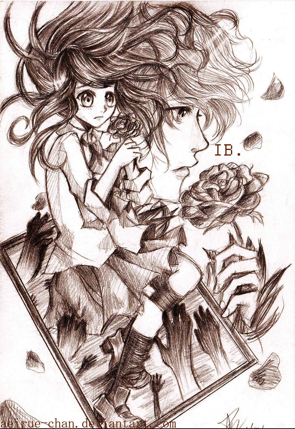 IB sketch by aeirue-chan