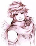 OC .:Sketch:. by aeirue-chan