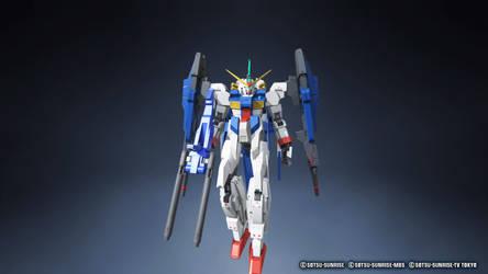 Gundam Breaker 3 Lantern Gundam w/ rifle