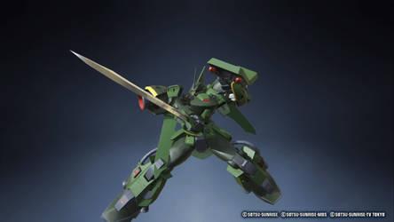 Gundam Breaker 3 Gator w/ heat saber