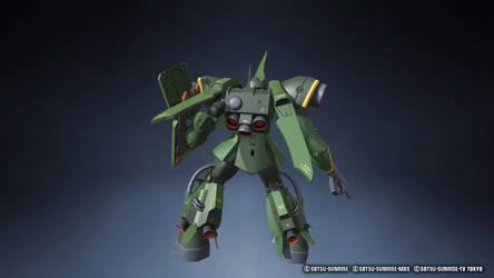 Gundam Breaker 3 Gator back