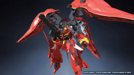 Gundam Breaker 3 Blood Bolt w/ rifle