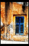 Window By the Pavement by dustyantiques