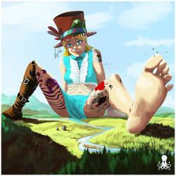 Alice in Wonderland: A Giant's Tale