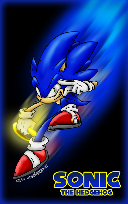 keep on movin sonic by nomad the hedgehog on deviantart