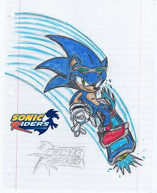 Worksheet. Sonic Riders by NomadTheHedgehog on DeviantArt