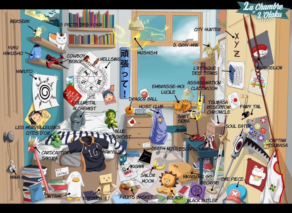 Contest la chambre de l 39 otaku answers by di din on deviantart for Chambre otaku