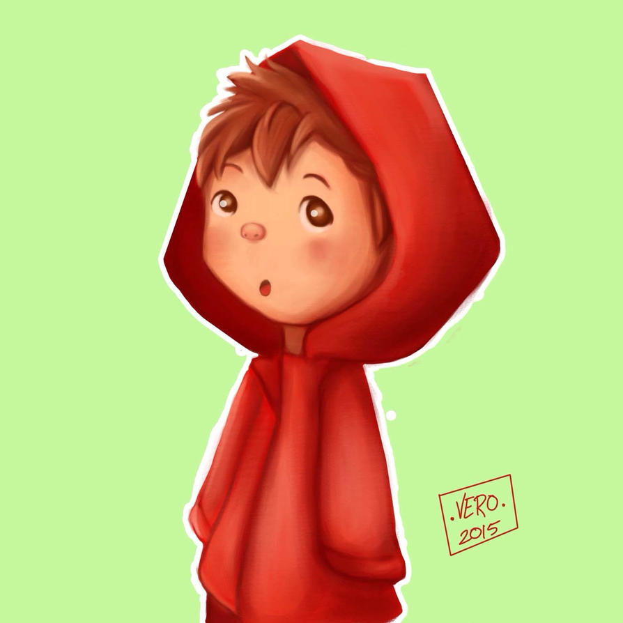Red Rain Coat by Verusa