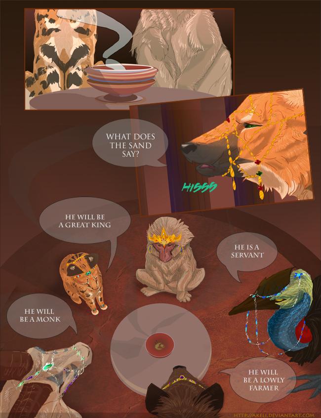 Guardians Prologue Page 1 by akeli