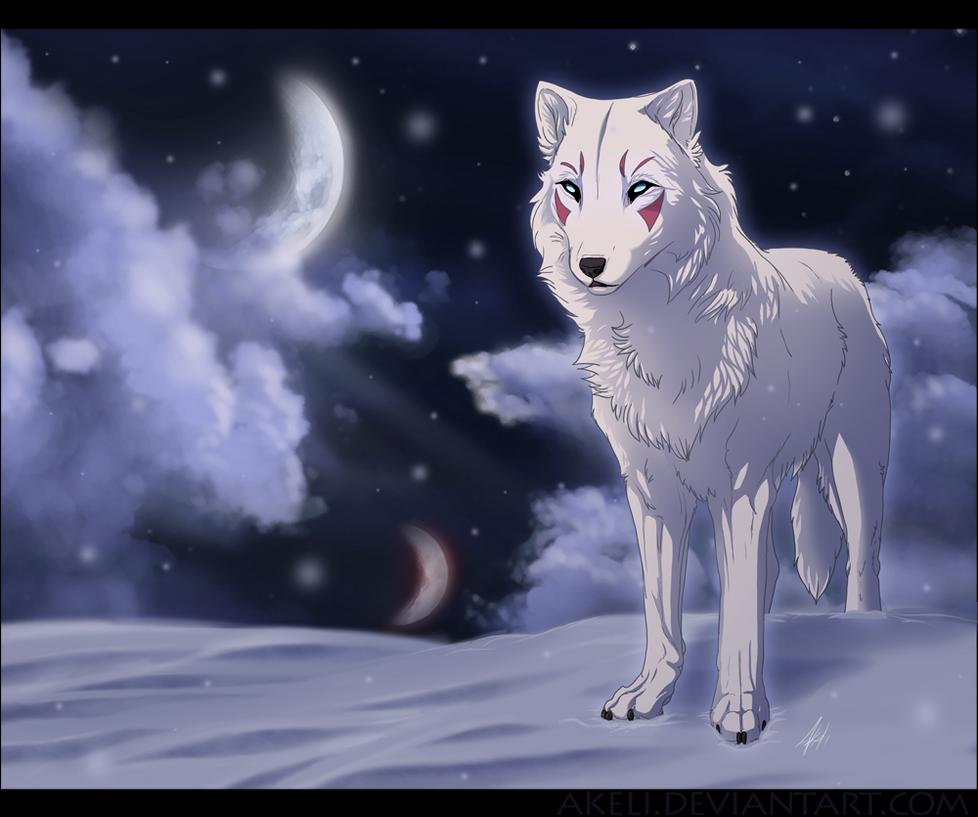 ~Taller Gráfico de Peter~ Snow_Wolf_by_akeli