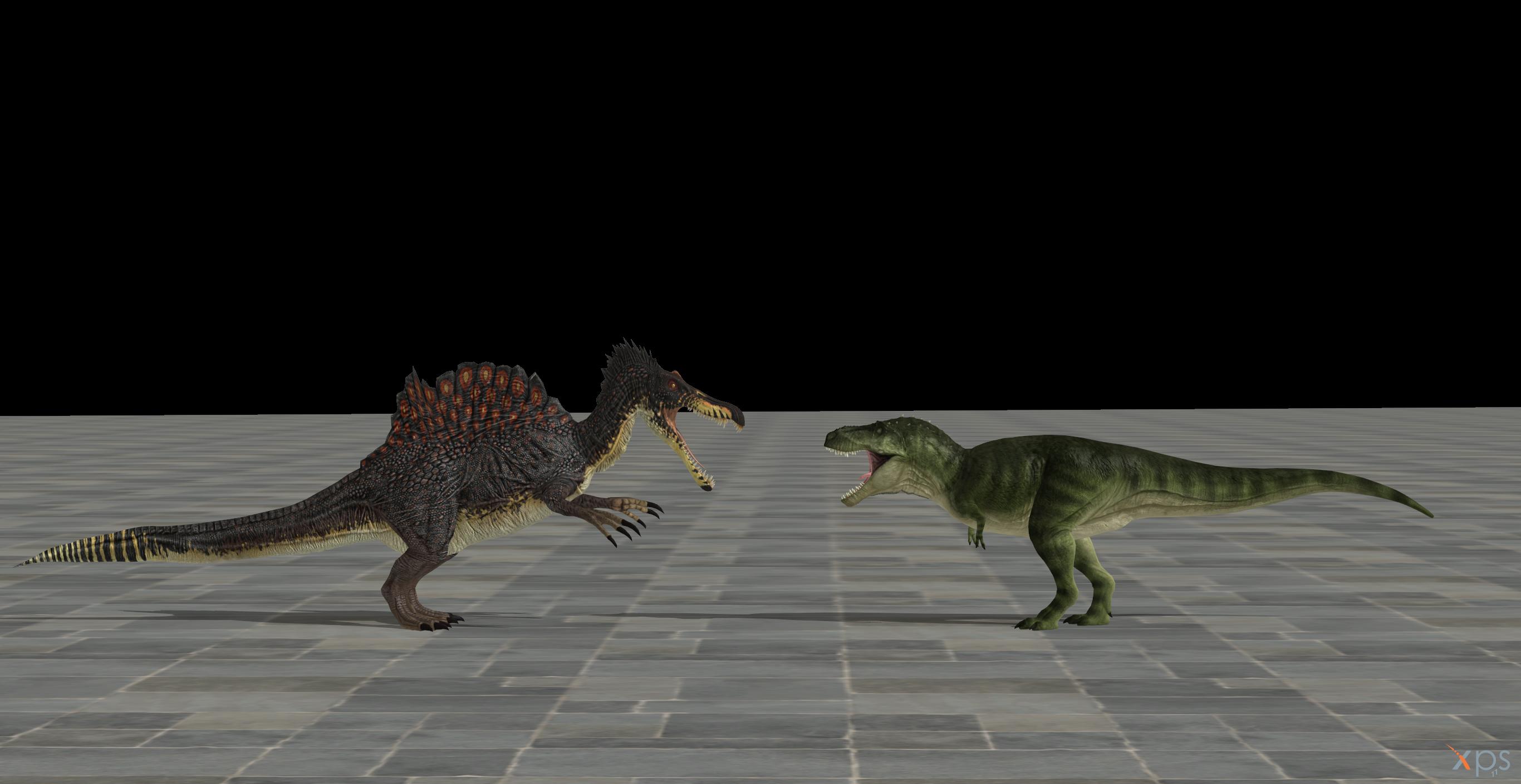 MP: NG T. rex vs Spinosaurus by DovahkiinHU3BR on DeviantArt