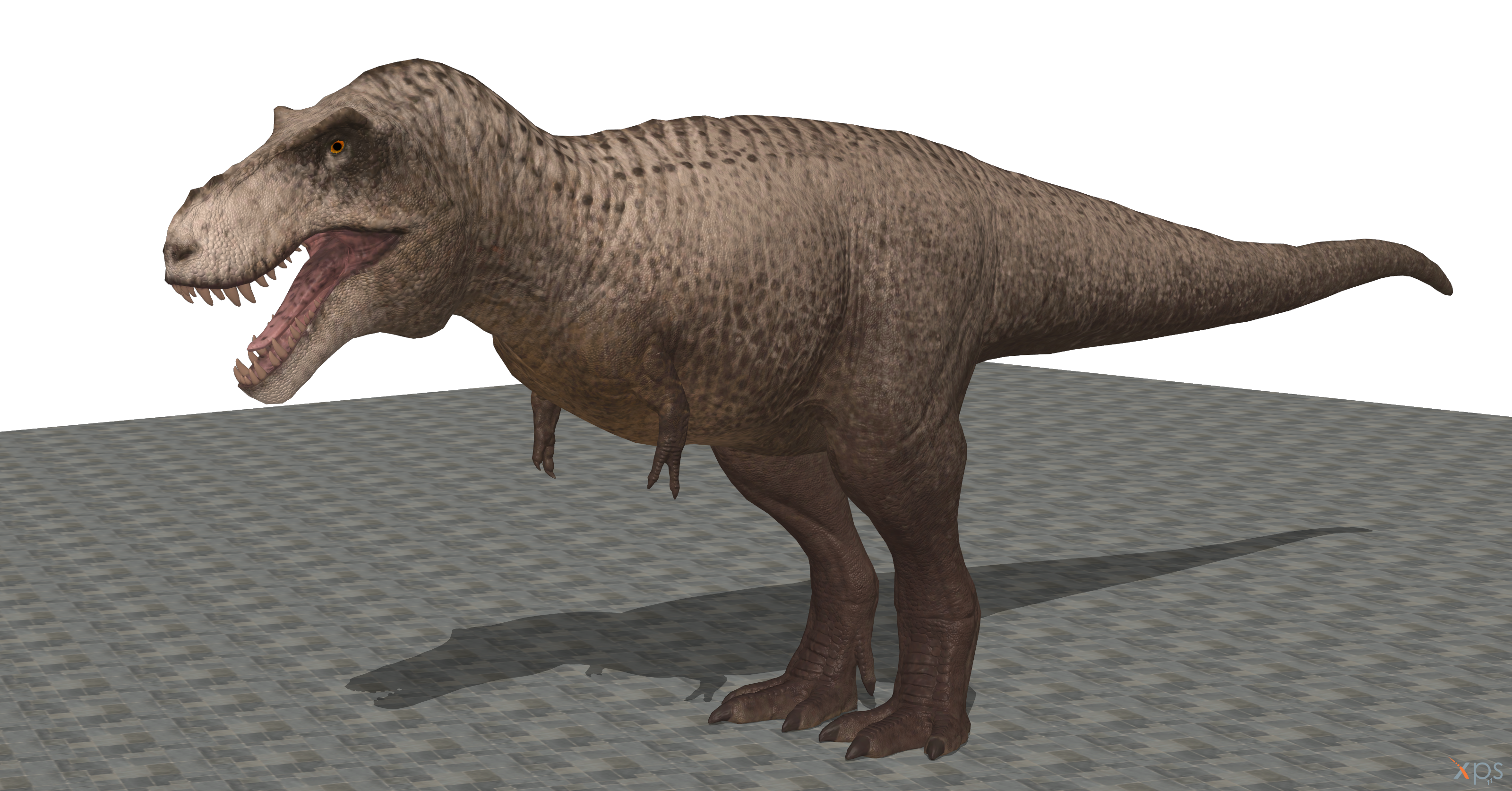 The Isle T  rex on Xnalara (the eyes tough   ) by