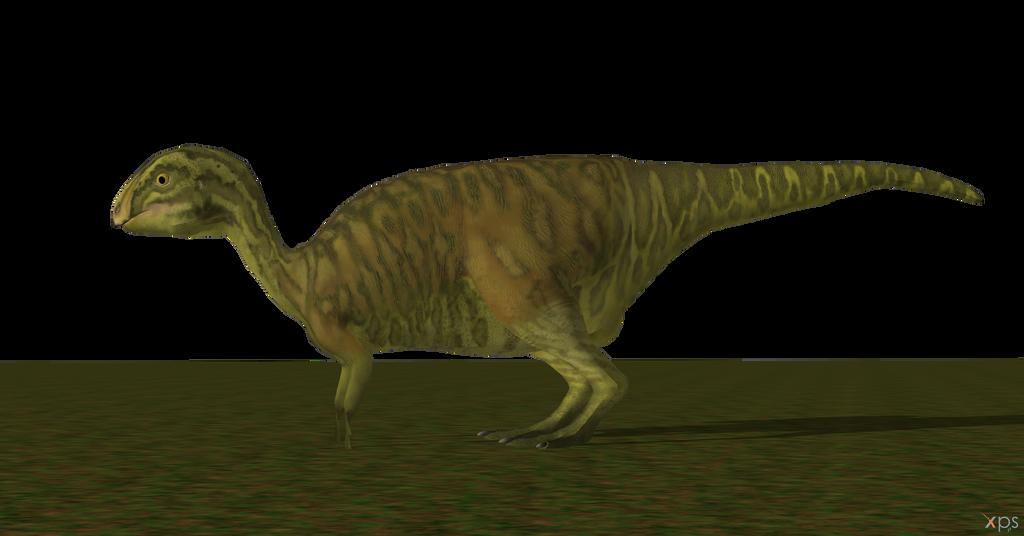 Baby Hadrosaur Portrayed by The Isle Dryosaurus by DovahkiinHU3BR