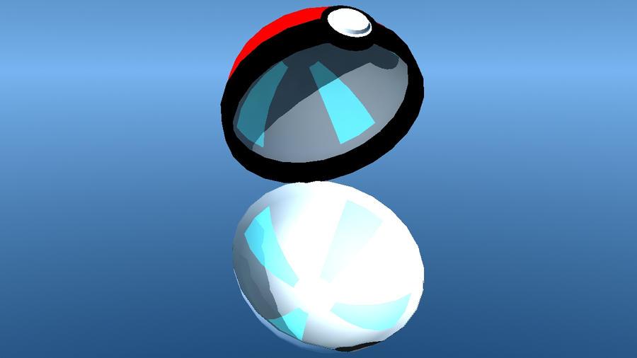 Pokeball Open By Saiyagami