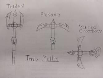 Terra Multis - line art sketch