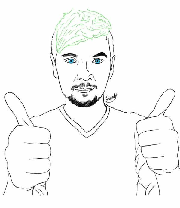 D Line Drawings You Tube : Jacksepticeye your support is amazing by meerkat love on