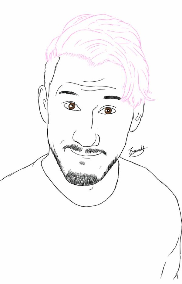Markiplier Coloring Pages Printable Sketch Coloring Page
