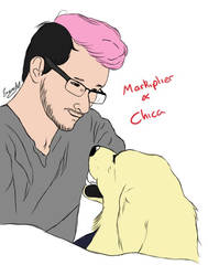 Markiplier and Chica